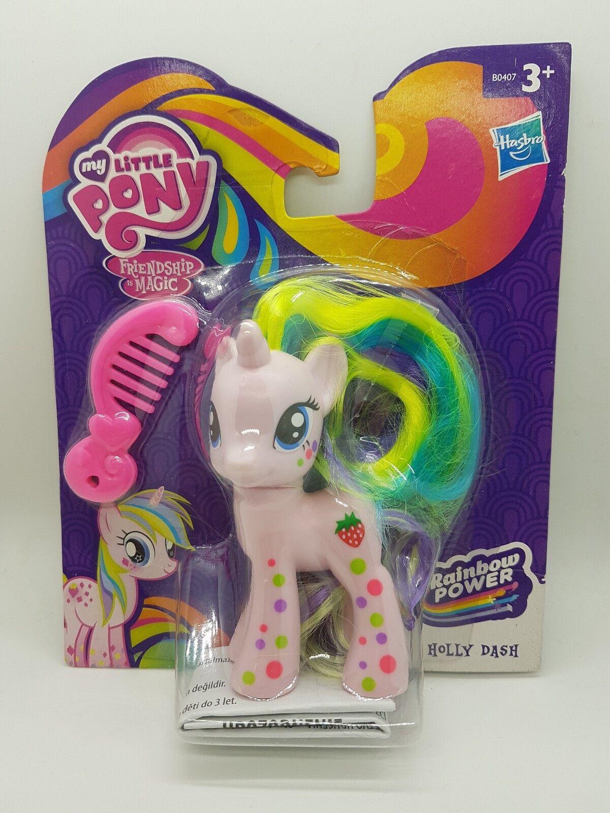 Min liten Pony G4 Rare Holly Dash (2014 KINA) Rainbow Power
