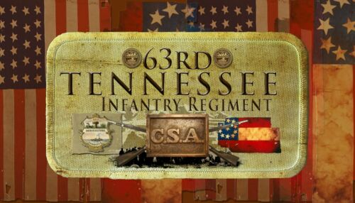 63rd Tennessee Infantry Civil War//War Between the States themed patch