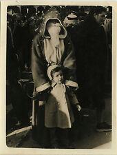 PHOTO ANCIENNE - VINTAGE SNAPSHOT - PÈRE NOËL ENFANT DÉGUISEMENT - CHRISTMAS