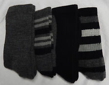 4 Pair Womens 76% Merino Wool Blend Hiking Hunting Trail Socks USA Made 4-10shoe