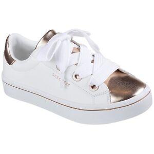 rose wtrg Gold 982 Toes White Skechers Pumps Hi Medal Ladies Platform lites wTYgPTq