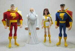 Jlu Custom Wizard famille Shazam Yellow Set Dc Comics