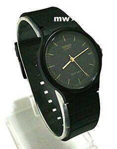 9b6444f06 Casio Classic Black Resin Retro Analog Men Unisex Battery Watch MQ24 ...