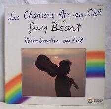 """33T GUY BEART Disque Vinyle LP 12"""" LES CHANSONS ARC EN CIEL -TEMPOREL 00036 EX"""
