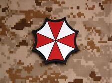 PVC Resident Evil Umbrella Corporation Patch VELCRO® Brand Hook Backing
