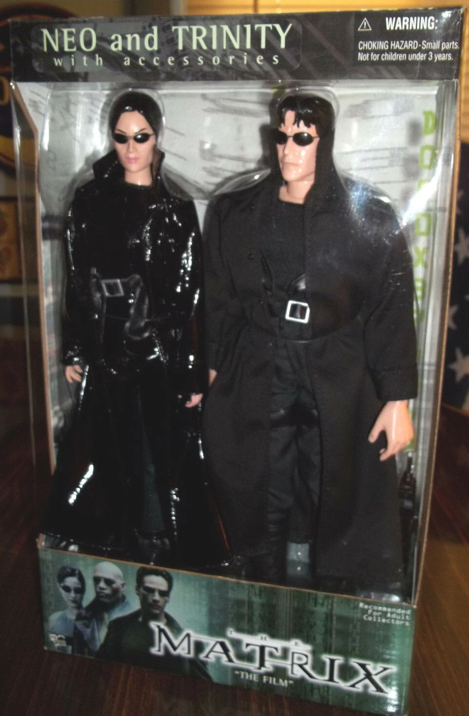 NEO and TRINITY with accessories  (N2TOYS)