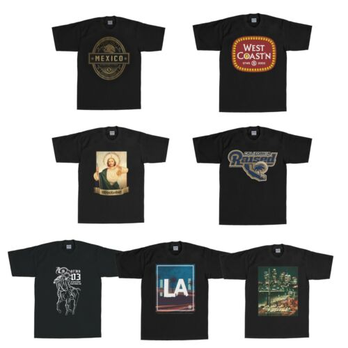 Streetwise Black Color T-Shirt L-4XL SIZE