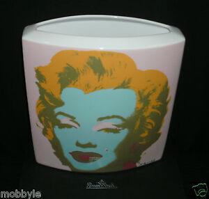 rosenthal studio line marilyn monroe vase 24 cm neu ovp 1 wahl andy warhol ebay. Black Bedroom Furniture Sets. Home Design Ideas