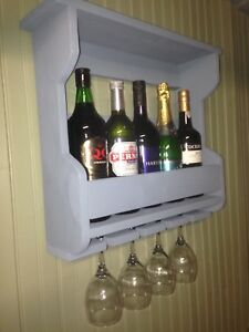Image Is Loading Shabby Chic Wine Rack Holds 5 Bottles Amp