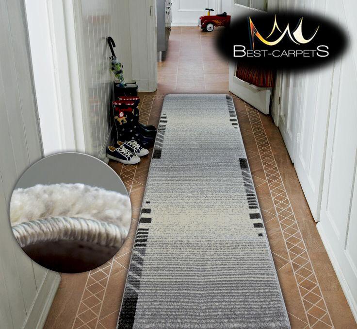 Très épais hall runner shadow 8597 8597 8597 largeur 80-120cm extra long soft densément rugs | De Qualité Constante  372e7e