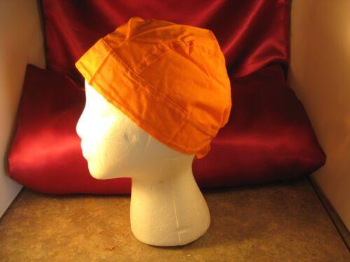 Doo Rag Bright Orange Cotton Dew Rag Do Rag