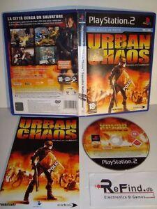 URBAN CHAOS SONY PLAYSTATION 2 PS2 - Italia - URBAN CHAOS SONY PLAYSTATION 2 PS2 - Italia