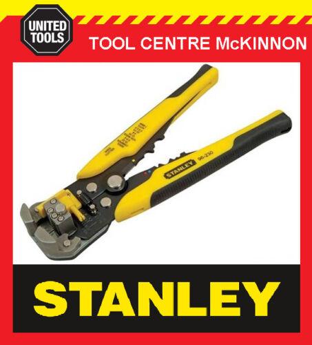STANLEY FATMAX FMHT0-96230 AUTOMATIC WIRE STRIPPER /& CRIMPER