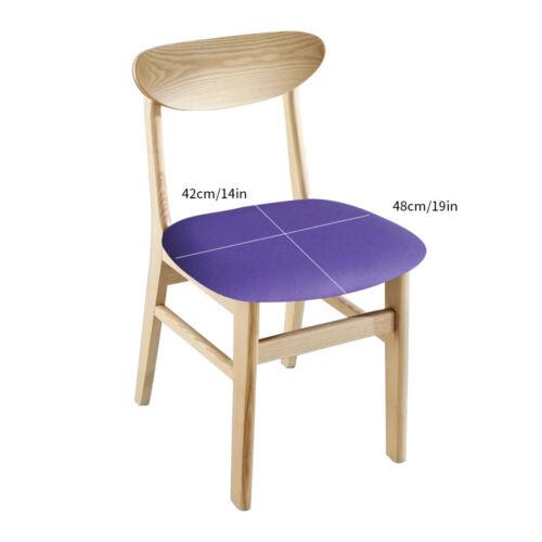 Abnehmbar Stretch Universal Stuhlbezug Sitzbezüge Esszimmer Soft Schonbezüge JO