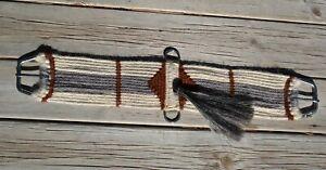 100-Mohair-Vaquero-Style-16-Strand-Cinch-w-Shu-Fly-Natural-Grey-Brown-28-034
