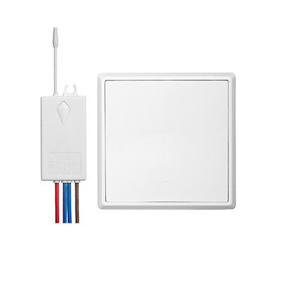 Wireless 1 Way Wall Switch AC 180V-260V Ceiling Lamp Light Remote Control Switch