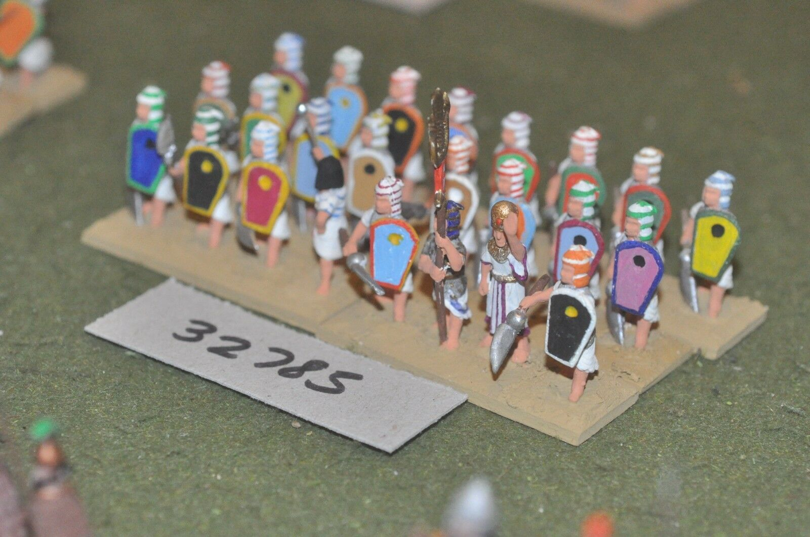 25mm biblical   egyptian - axemen 24 figures - inf (32785)