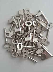 1-KG-Stahlschluessel-Vollbart-nicht-gefraesst-NEUWARE-kein-Schrott
