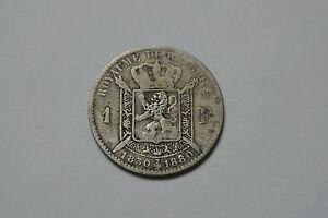BELGIQUE-1-FRANC-ARGENT-1830-1880