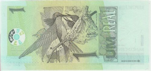 UNC Brazil Banknote P243a  1 Real