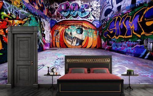 3D Halloween 747Wall Paper Murals Wall Print Wall Wallpaper Mural AU Kyra