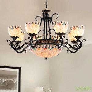 Details About Mediterranean Style Chandeliers Suspension Hanging Light Led Black Pendant Lamp