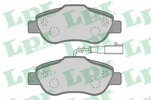 Kit Pastiglie Freno LPR 05P1263 FIAT FORD