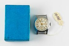 ANTIQUE VINTAGE RUSSIAN WRISTWATCH POBEDA NEW OLD STOCK 29.5 mm 1951