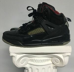 brand new 842e9 9519f Image is loading Nike-Air-Jordan-Spiz-039-ike-Black-Red-
