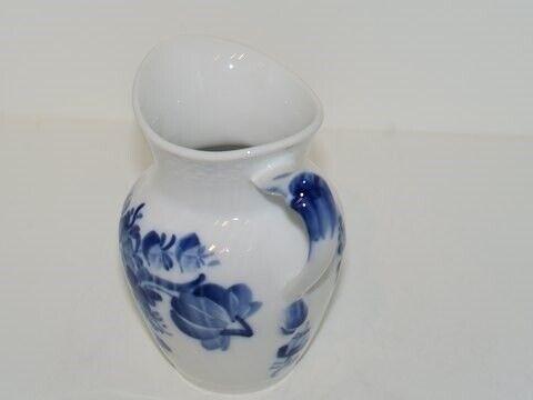 Porcelæn, Blå Blomst Svejfet  Flødekande, Blå Blomst