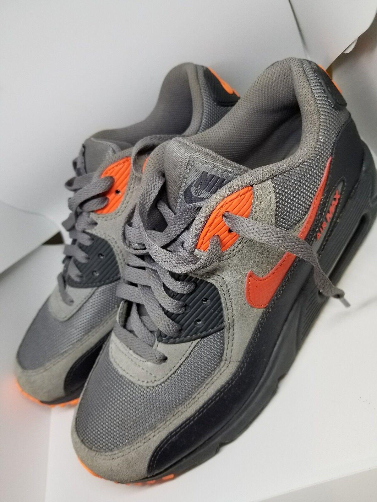 Nike Air Max 90 US BOYS 76 EUR 40 Gris /orange/ noir