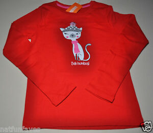 CAT /& JACK Girls Shirt Top Eco White LLama Graphic Tee Long Sleeve  NWT