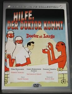 DVD-Hilfe-der-Doktor-kommt-1954-Dirk-Bogarde-Donald-Sinden-NEU-ohne-OVP