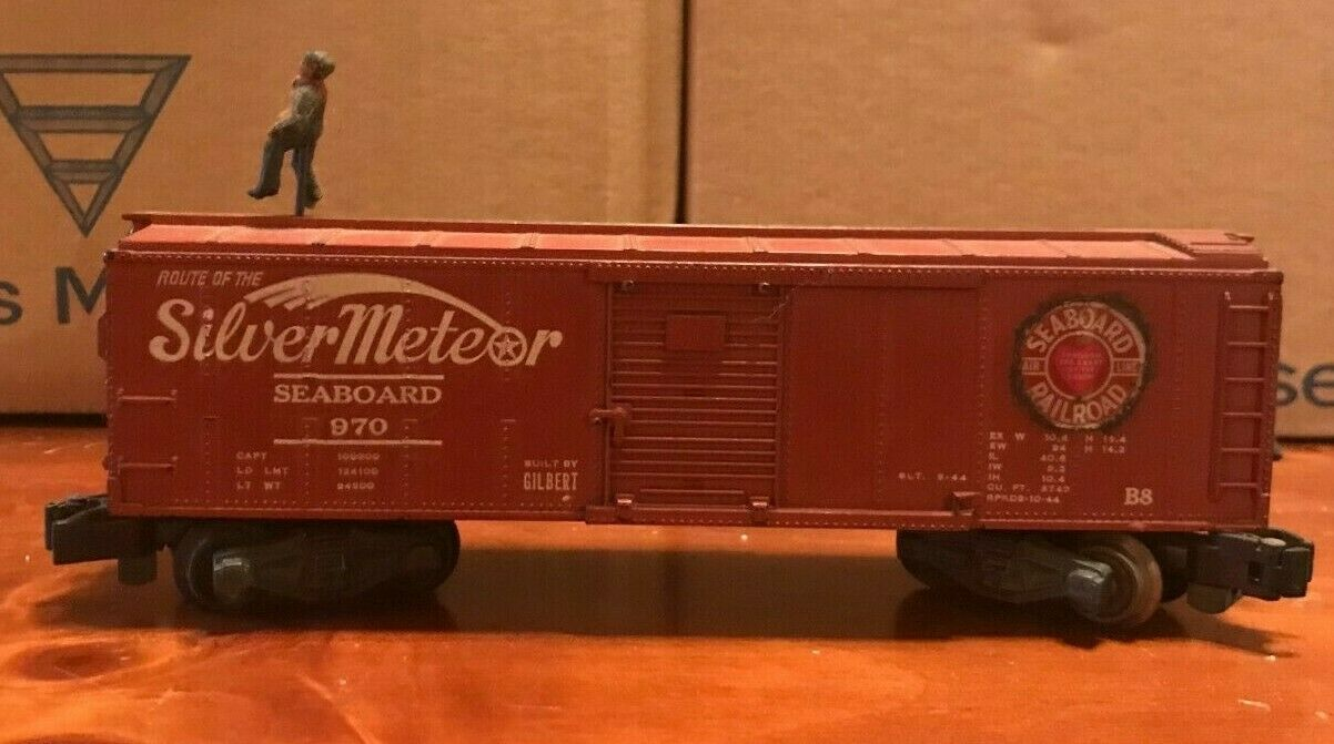 American Flyer Model 970 Seaboard Operating Boxcar
