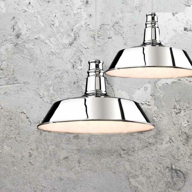 Modern Pendant Chrome Canopy Lights Kitchen Hanging Cord Lighting New