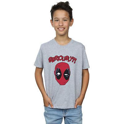 Marvel Niños Deadpool Seriously Camiseta