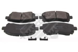 Bremsbelagsatz Scheibenbremse MAPCO 6845 vorne für SUBARU