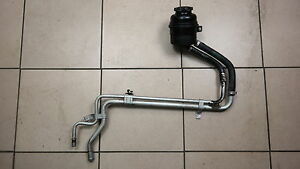 BMW-5-6-Series-e60-e61-M5-e63-e64-M6-Power-steering-line-pipe-hose-to-reservoir
