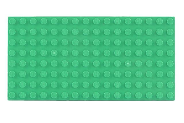Lego 10 x 16er flach 2 x 8 braun Stein Steine Bricks Legos Baustein Neu