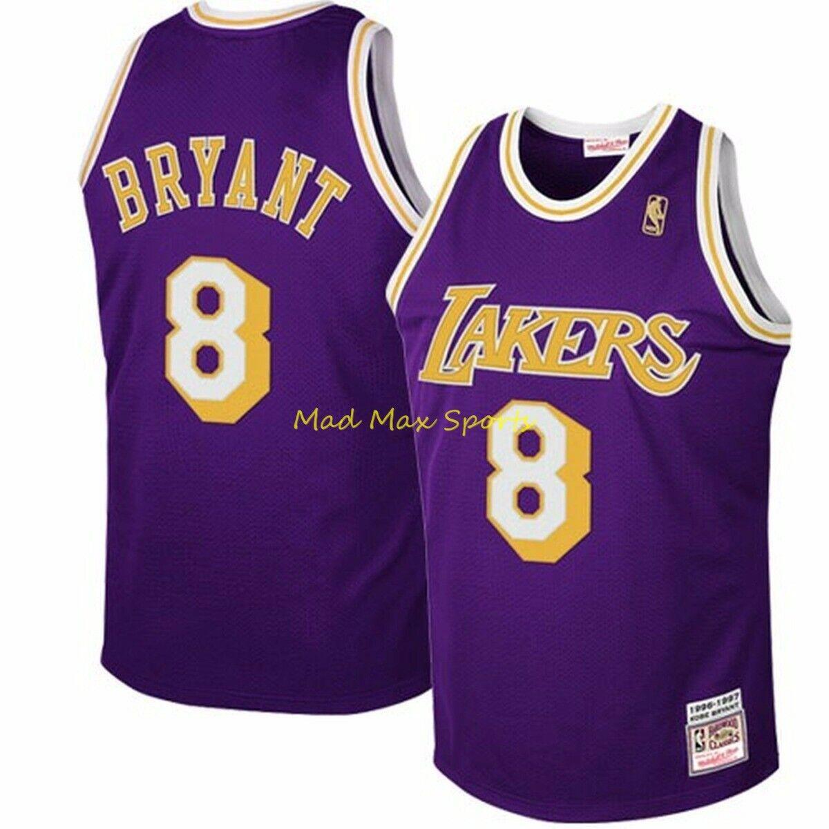 Kobe Bryant Lakers Mitchell & Ness Away Rookie Jersey Size 48 XL ...