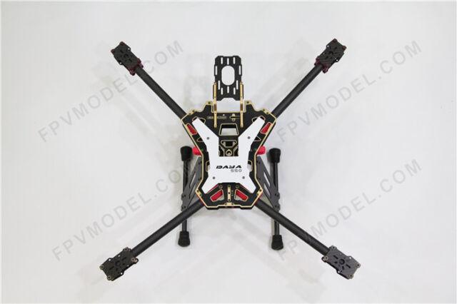 DAYA 550 Alien Carbon Fiber Folding 4-Axis FPV Quadcopter Frame Kit