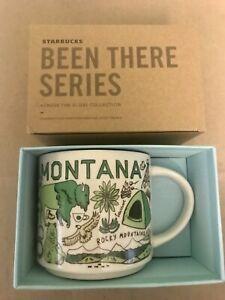 Starbucks Coffee Been There Series Mug MONTANA Cup 14 oz NIB w/SKU
