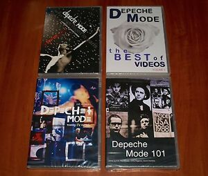 Depeche Mode 4x Dvd Lot Touring The Angel 101 Live One Night In
