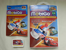 Disney Pixar VTech Mobigo 1 & 2 - Mater's Tall Tales Complete Boxed VG Condition