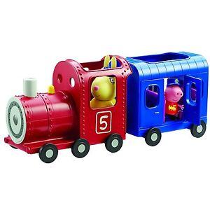 Peppa-Pig-Perder-Conejos-Tren-Y-Carro-Parque-Infantil-Con-Figuras-Juguete-3