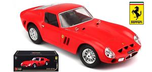BBURAGO 1 18 skala FERRARI 250 GTO - röd - 16602R - BEGRÄNSAD Edition (BRAND NY)