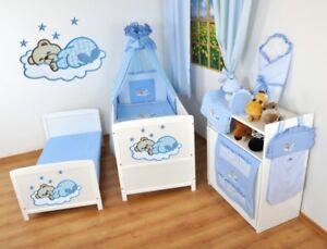 Kinderbett-Juniorbett-120x60-Weiss-3x1-inkl-komplette-Bettwaesche-Set-nr-14