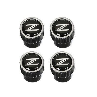 """OEM NEW Genuine Nissan Set  Air Valve Stem Caps /""""Z/"""" Logo 350Z 370Z  999MB-ZX000"""