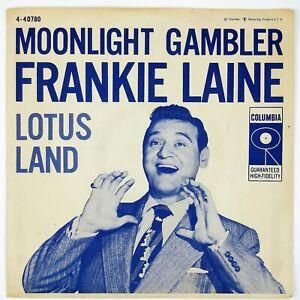 FRANKIE-LAINE-Moonlight-Gambler-Lotus-Land-7IN-1956-POP-VOCAL-P-SLVEVG-NM