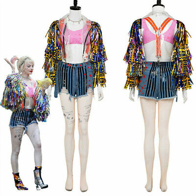 2020 Birds Of Prey Fantabulous Emancipation Of One Harley Quinn Cosplay Costume Ebay